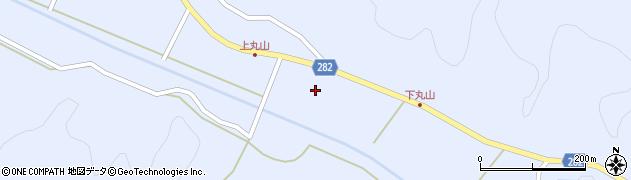 福島県天栄村(岩瀬郡)大里(若内)周辺の地図
