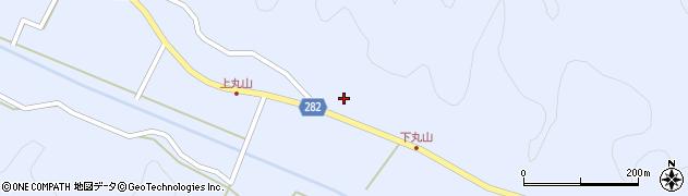 福島県天栄村(岩瀬郡)大里(丸山)周辺の地図