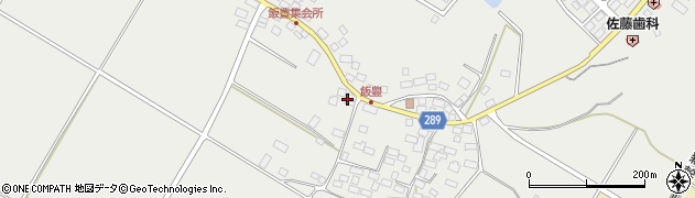 福島県天栄村(岩瀬郡)飯豊(西田)周辺の地図