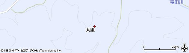 福島県天栄村(岩瀬郡)大里(胡桃立)周辺の地図