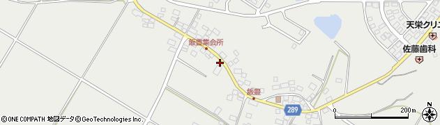 福島県天栄村(岩瀬郡)飯豊(莞田)周辺の地図