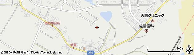 福島県天栄村(岩瀬郡)飯豊周辺の地図