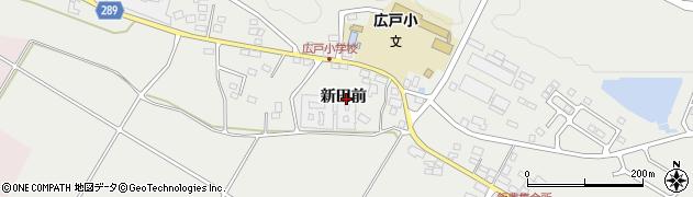 福島県天栄村(岩瀬郡)飯豊(新田前)周辺の地図
