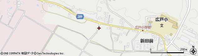 福島県天栄村(岩瀬郡)飯豊(神送)周辺の地図