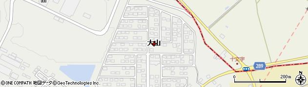 福島県天栄村(岩瀬郡)飯豊(大山)周辺の地図