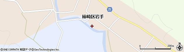 新潟県上越市柿崎区岩手周辺の地図