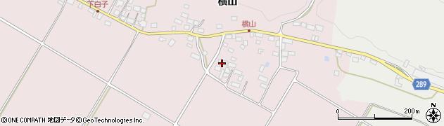 福島県天栄村(岩瀬郡)白子(谷地畠)周辺の地図