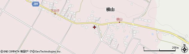 福島県天栄村(岩瀬郡)白子(宮ノ前)周辺の地図