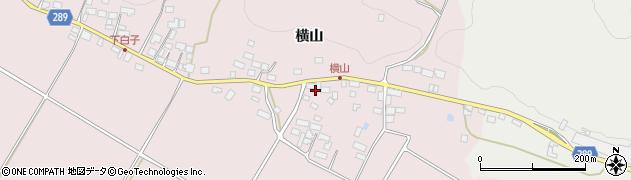 福島県天栄村(岩瀬郡)白子(谷地畑)周辺の地図
