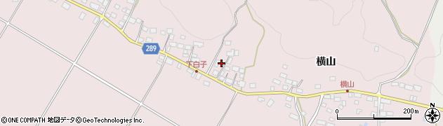 福島県天栄村(岩瀬郡)白子(太多郎)周辺の地図