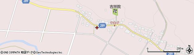 福島県天栄村(岩瀬郡)白子(重次郎)周辺の地図