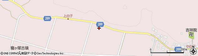 福島県天栄村(岩瀬郡)白子(梅木田)周辺の地図