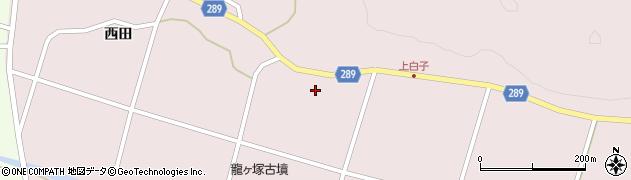 福島県天栄村(岩瀬郡)白子(白旗)周辺の地図