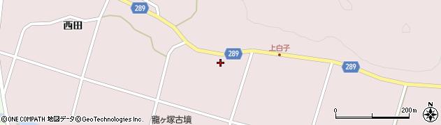 福島県天栄村(岩瀬郡)白子(権七)周辺の地図