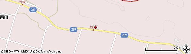 福島県天栄村(岩瀬郡)白子(西ノ内)周辺の地図