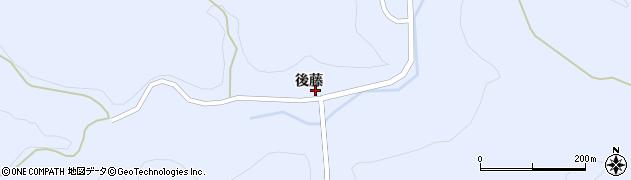 福島県天栄村(岩瀬郡)牧之内(後藤)周辺の地図