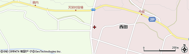 福島県天栄村(岩瀬郡)白子(井戸神)周辺の地図