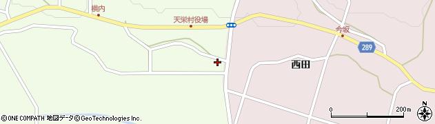 福島県天栄村(岩瀬郡)下松本(東田)周辺の地図