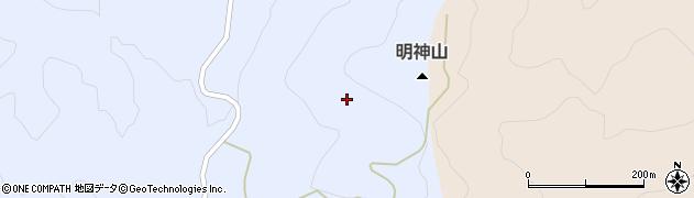 福島県天栄村(岩瀬郡)牧之内(向坂山)周辺の地図
