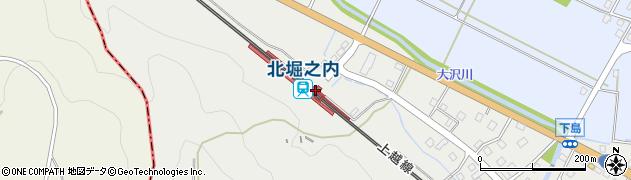 新潟県魚沼市周辺の地図