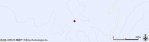福島県天栄村(岩瀬郡)牧之内(黒森沢)周辺の地図