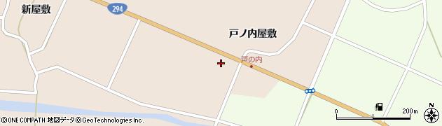 福島県天栄村(岩瀬郡)上松本(拝田)周辺の地図