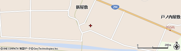 福島県天栄村(岩瀬郡)上松本(上川原)周辺の地図