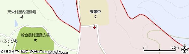 福島県天栄村(岩瀬郡)白子(西原)周辺の地図