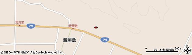 福島県天栄村(岩瀬郡)上松本(下樋越)周辺の地図