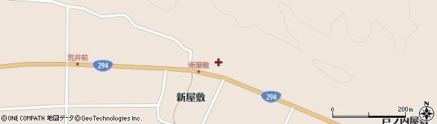 福島県天栄村(岩瀬郡)上松本(麦田)周辺の地図
