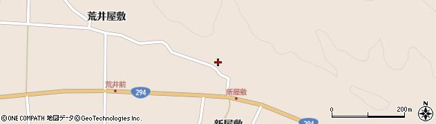 福島県天栄村(岩瀬郡)上松本(作田西)周辺の地図