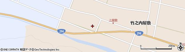 福島県天栄村(岩瀬郡)上松本(代官前)周辺の地図