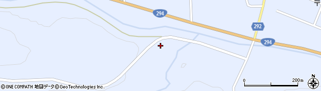福島県天栄村(岩瀬郡)牧之内(四斗蒔)周辺の地図