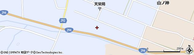 福島県天栄村(岩瀬郡)牧之内(児渡東)周辺の地図