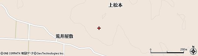 福島県天栄村(岩瀬郡)上松本(所観山)周辺の地図