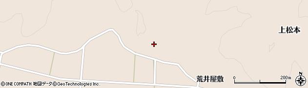 福島県天栄村(岩瀬郡)上松本(坂下)周辺の地図