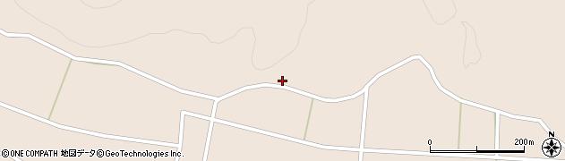 福島県天栄村(岩瀬郡)上松本(西畑)周辺の地図
