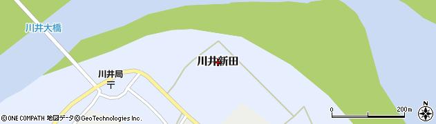 新潟県小千谷市川井新田周辺の地図