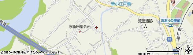 新潟県長岡市西川口周辺の地図