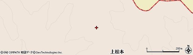 福島県天栄村(岩瀬郡)上松本(西前帰)周辺の地図