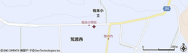 福島県天栄村(岩瀬郡)牧之内(女神)周辺の地図