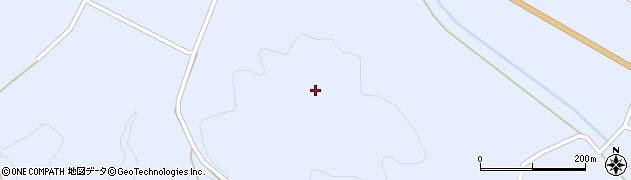 福島県天栄村(岩瀬郡)牧之内(黒沢山)周辺の地図