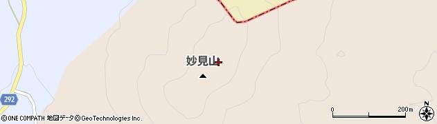 福島県天栄村(岩瀬郡)上松本(妙見山)周辺の地図