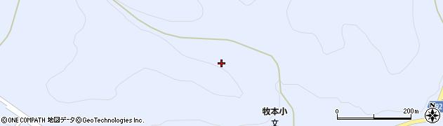 福島県天栄村(岩瀬郡)牧之内(日向)周辺の地図