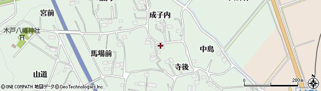 陽向荘周辺の地図