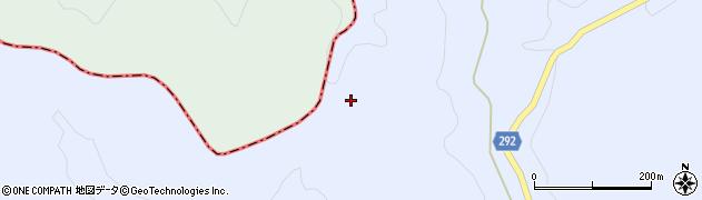 福島県天栄村(岩瀬郡)牧之内(中井谷地)周辺の地図