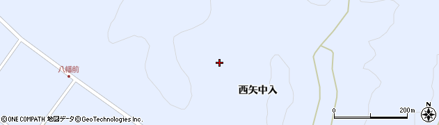 福島県天栄村(岩瀬郡)牧之内(矢中入)周辺の地図