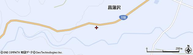 福島県天栄村(岩瀬郡)牧之内(新林)周辺の地図