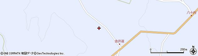 福島県天栄村(岩瀬郡)牧之内(山沢)周辺の地図