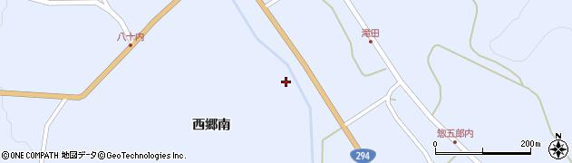 福島県天栄村(岩瀬郡)牧之内(西郷北)周辺の地図